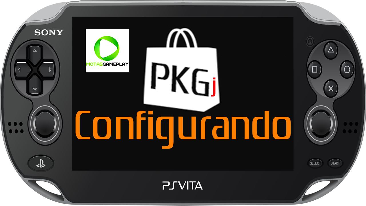 Como instalar jogos pelo PKGJ no PS Vita - Motasgameplay